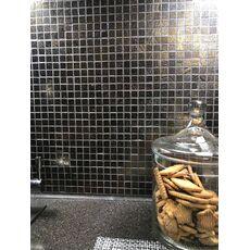 м   ДЕКОР LAVA PIXEL мозаика из лавы, чип 15*15*8мм, 300*300mm