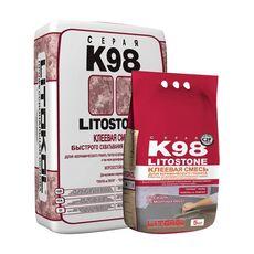 кл  Litostone K98 серая-клеевая смесь 25 кг